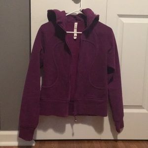 Plum lululemon jacket